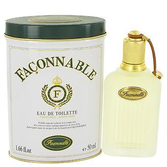 FACONNABLE by Faconnable Eau De Toilette Spray 1.7 oz / 50 ml (Men)