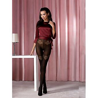 Passion Back Seamed Tights
