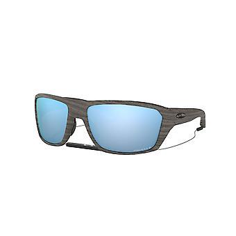 Oakley Split Shot OO9416 16 Woodgrain/Prizm Deep H2O Polarised Sunglasses