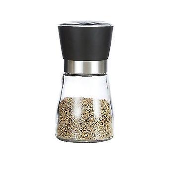 Pepper Grinder Or Salt Shaker, With Ceramic Blade, Adjustable Thickness