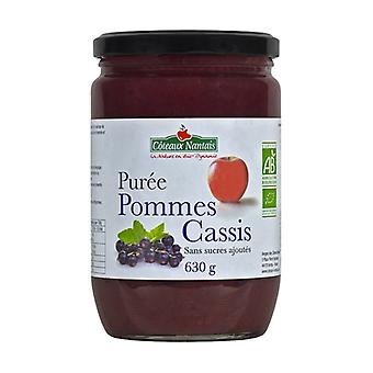 Blackcurrant apple puree without sugar 630 g
