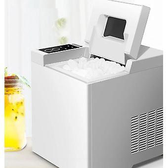 Mini Automatische elektrische Eismaschine (weiß)