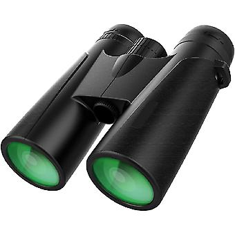 12x42 Binoculars , Large View Eyepiece Binoculars For Birds Watching Hunting Travel