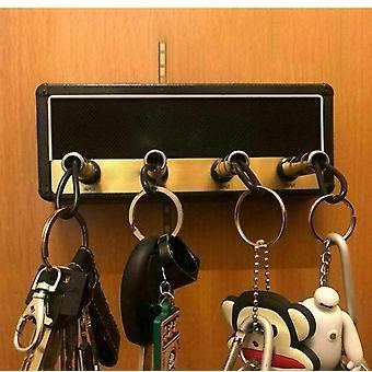 Key Storage Guitar, Keychain Holder Jack, Rack Electric, Vintage Amplifier,