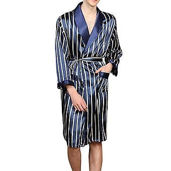 Sleepwear Faux Silk Nightwear Comfort Silky Bathrobes Noble Dressing