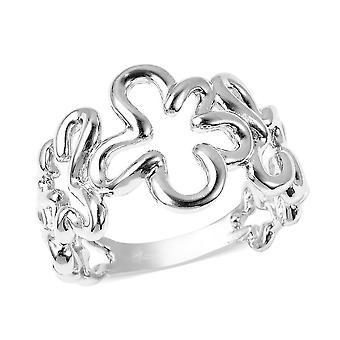 LucyQ zilveren designer ring voor vrouwen gestempeld cadeau voor haar