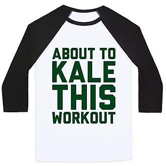 About to kale this workout unisex classic baseball tee