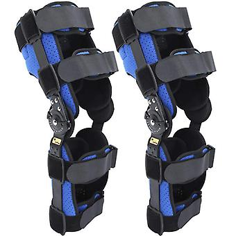 Knee joint brace support adjustable breathable knee stabilizer leg protector knee sprain fixed strap orthosis arthritic guard