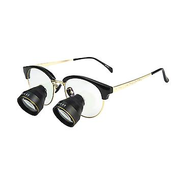 Metal frame ttl dental loupe binocular 2.5x dentist magnifying glass surgical magnifier long working distance