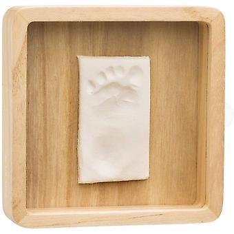 De houten inzamelings magische doos van de babykunst