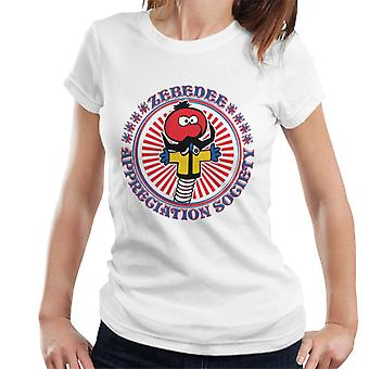 Den magiska rondellen Zebedee Appreciation Society Women&s T-Shirt