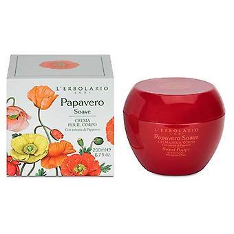 L'Erbolario Sweet Poppy Body Cream 200 ml
