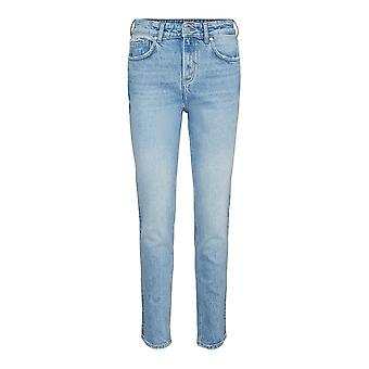 Vero Moda Womens Tracy HR Straight Jeans Pockets Trousers Pants Bottoms