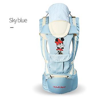Ergonomic Baby Carrier, Infant Kid Hip Seat, Sling Front Facing Kangaroo Minnie