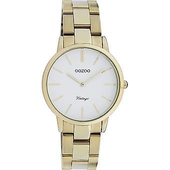 Oozoo - Women's Watch - C20046 - Gold White