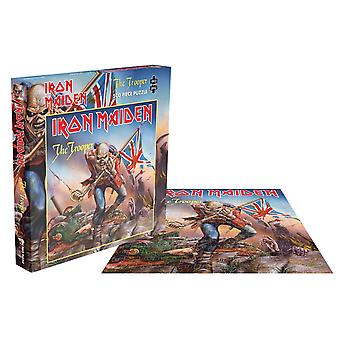 Iron Maiden Jigsaw Puzzle The Trooper Cover new Official Blue 500 Piece