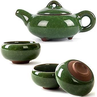 Kung Fu porslin handgjord keramiskt te set 6 koppar