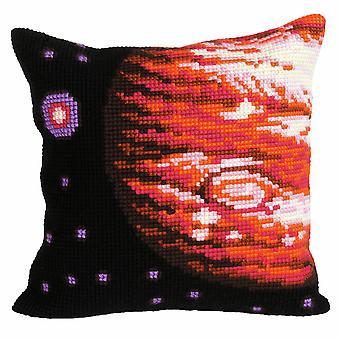 Samling d'Art Cross Stitch Kit: Kudde: Jupiter