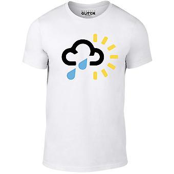 Reality glitch uk weather forecast symbol kids t-shirt