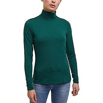 edc de Esprit 100CC1K313 Camiseta, 375/DARK Teal Green, L Donna