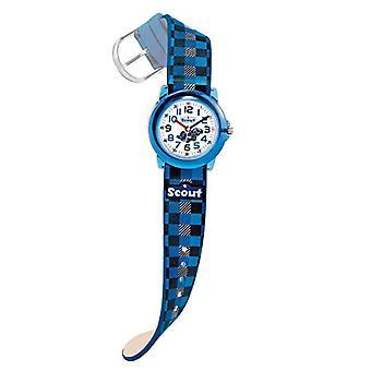 Scout Children's wristwatch, quartz, analog, faux leather strap 280305015