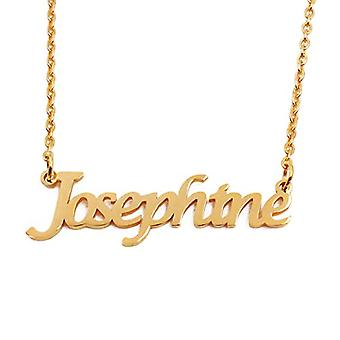 KL Kigu Josephine - Women's necklace with name, name, fashionable jewel, gift idea for girlfriend, mom, sister