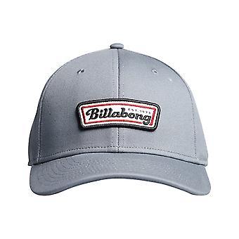 Billabong Walled Stretch Cap in Grau