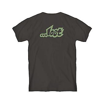 Lost Lost Planet Short Sleeve T-Shirt in Black