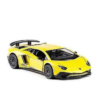 أصفر سيارة نموذج سيارة لعبة للفتيات kidsboys هدية x555