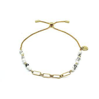 Britas bay white link bracelet