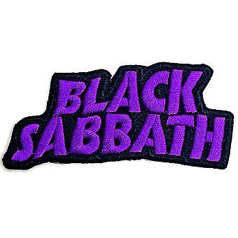 Black Sabbath - Cut Out Wavy Logo Standard Patch