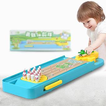 لعبة سطح المكتب للأطفال، ميني الضفدع البولينج منصة تفاعلية ألعاب الطاولة الرياضية
