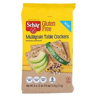 Schar Cracker Multigrain, Case of 5 X 7.4 Oz