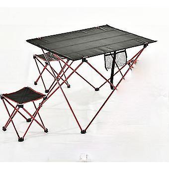 Tavolo da campeggio esterno Tavolo pieghevole portatile Mobili ultraleggero alluminio Escursione Arrampicata Picnic