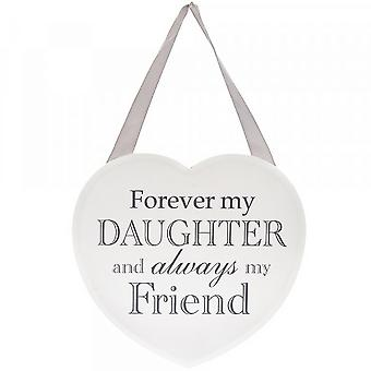 Hanging Heart Plaque for Daughter | Gift Item