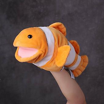 Kawaii Clownfisch Goldfisch Handpuppe