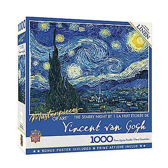 Masterpieces of Art Puzzle (1K)