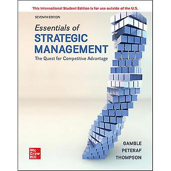 ISE Essentials of Strategic Management The Quest for Competitive Advantage