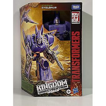 Transformers Kingdom War for Cybertron Trilogy Cyclonus  Hasbro F0692