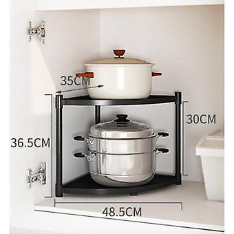 (Kitchen rack pot rack household storage rack pot rack) Kitchen Pot Storage Rack