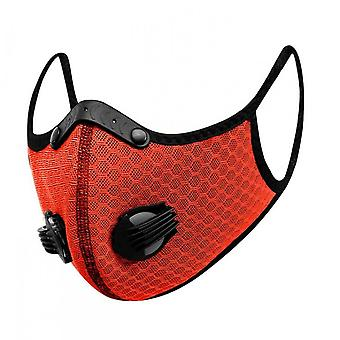 Cycling Mask, Outdoor Anti-smog Mask, Dust-proof Bicycle Protective Breathing Valve