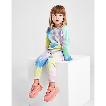 New Sonneti Girls' Micro Tie Dye Tracksuit from JD Outlet Blue