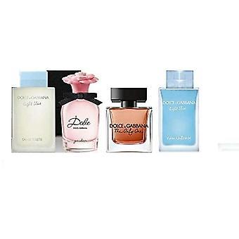 Dolce & gabbana womens miniature perfume gift set 4 piece