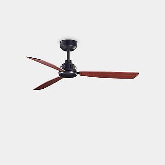 LEDS C4 Xaloc 1000mm 3 terä 100cm kattotuuletin Metallinen Musta, Mahogany