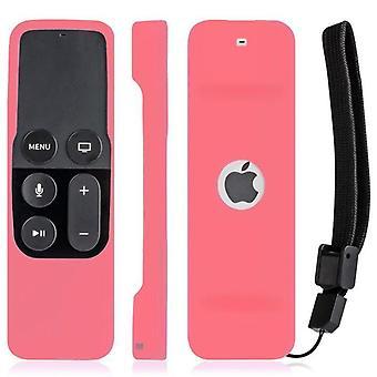 Apple TV 4k 4th Gen Kaukosäädin Silikoni Pehmeä Suojaava ihokotelon kansi