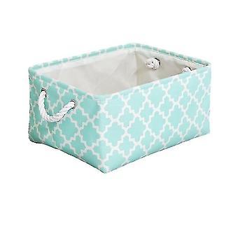 Cube Canvas Stoff Aufbewahrungskorb - Kleidung Falten Aufbewahrungsbox für Kinderzimmer