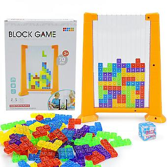 Tetris Puzzle Interactive 4d Board Game Toy