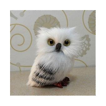 7cm Cute Snowy Owl Design Doll