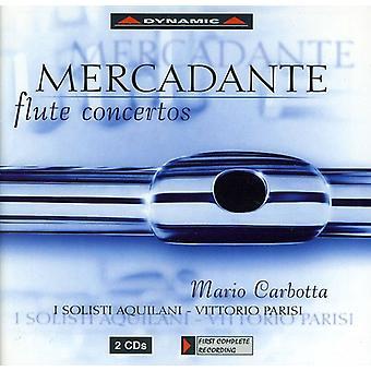 S. Mercadante - Mercadante: Flute Concertos [CD] USA import