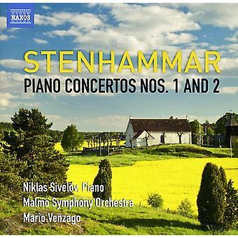 W. Stenhammar - Stenhammar: Piano Concertos nrot 1 & 2 [CD] USA tuonti